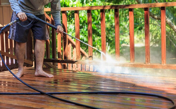 Top Tips for Safe and Easy Deck Cleaning